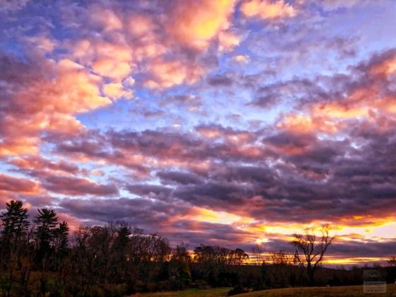 November 2017 Cloudscape near sunset
