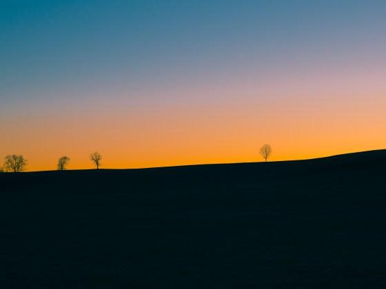 Sunset on Doe Run Ridge