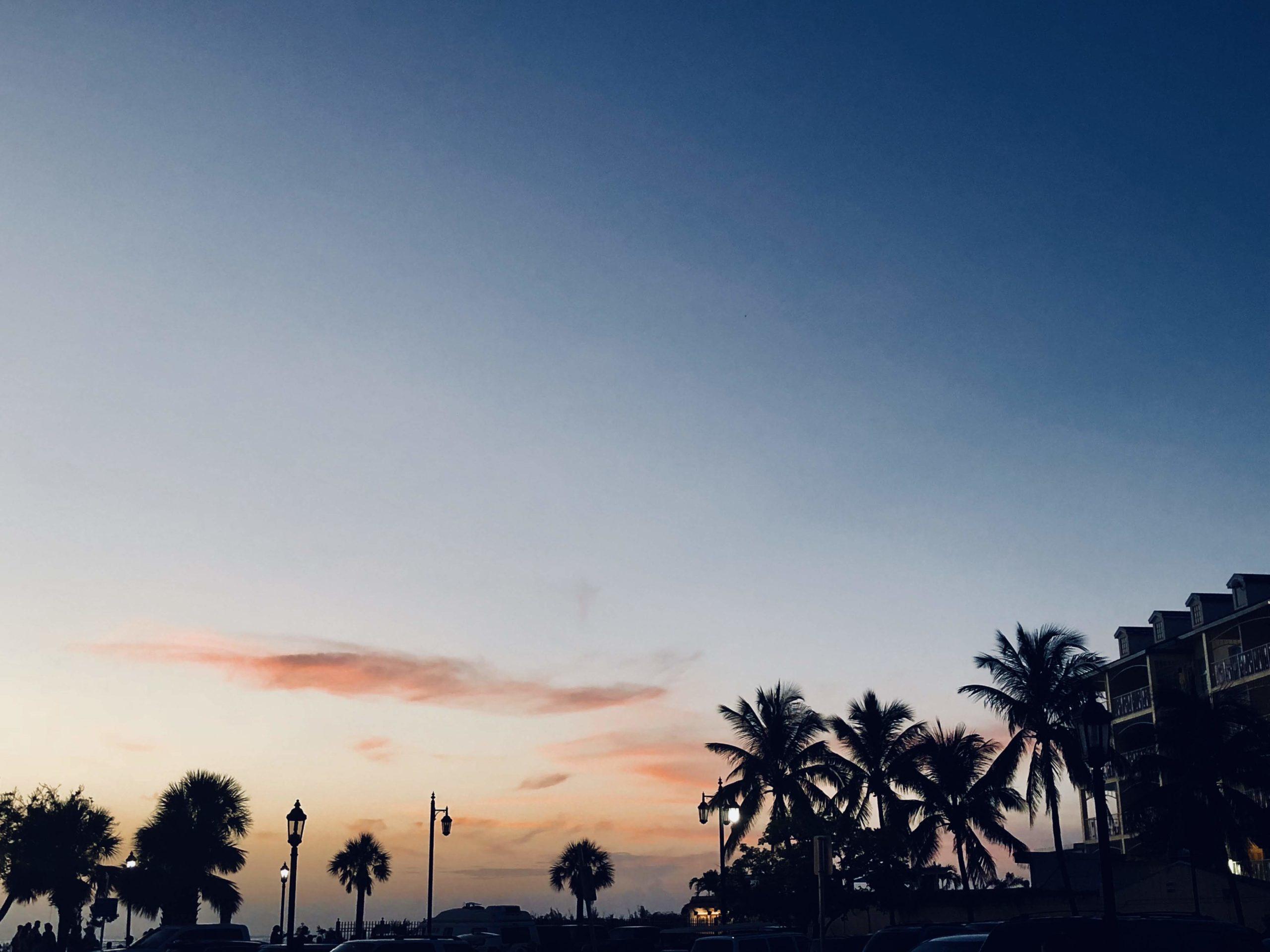 Coucher de soleil Key West
