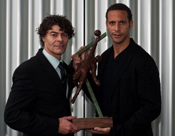 Shaun Campbell and Rio Ferdinand