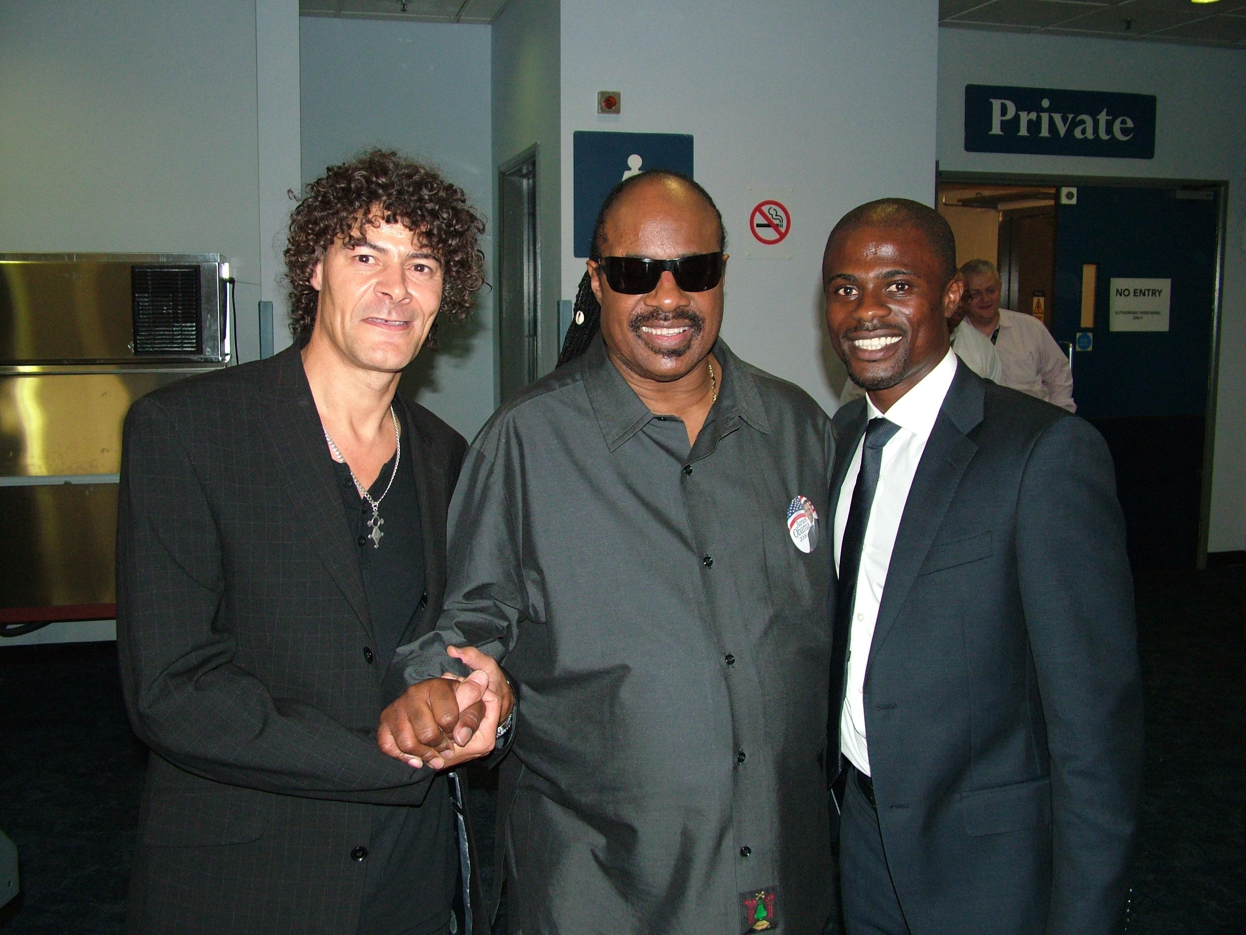 Shaun Campbell, Stevie Wonder, George Boeteng