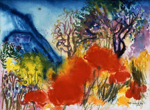 Harald Hoffmann de Vere - Chagalls Garten