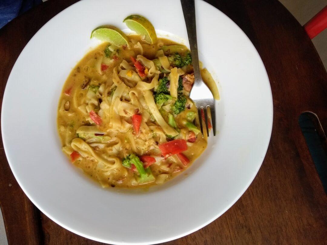 Vegan Phad Thai Noodles Recipe
