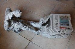 déchaussante papier