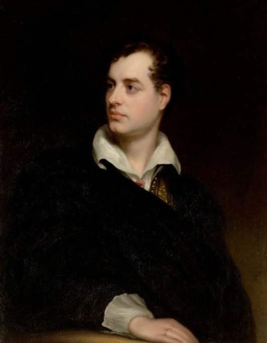 Ο ποιητής και φιλέλληνας Λόρδος Βύρων