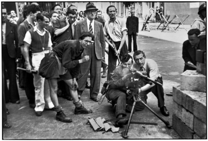 Καρτιέ-Μπρεσόν, Απελευθέρωση Παρισιού, 1944