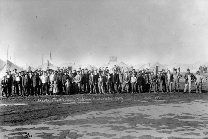 Οι απεργοί ανθρακωρύχοι του Ludlow