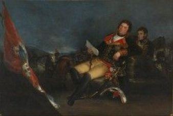 """Francisco de Goya. """"Godoy como general"""""""