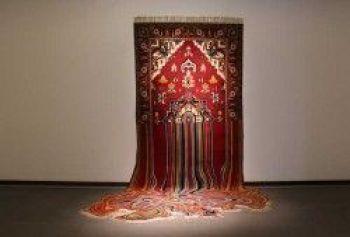 Liquid. Handmade Woolen carpet. 200x290. 2014