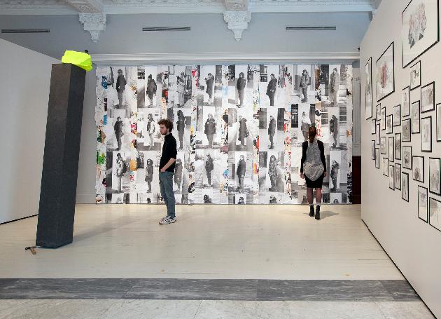 Vue de l'exposition. Crédits photographiques: Anne-Renée Hotte