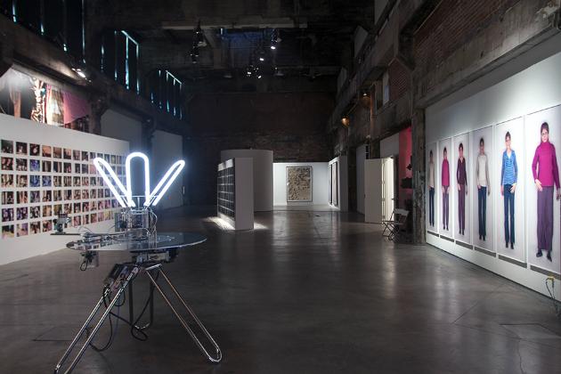 Vue d'installation, Le Mois de la Photo à Montréal 2013. Crédit photographique: Corina Ilea.