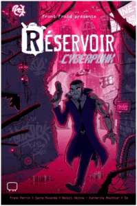 Page couverture Source: Prologue, page «Réservoir - Cyberpunk»