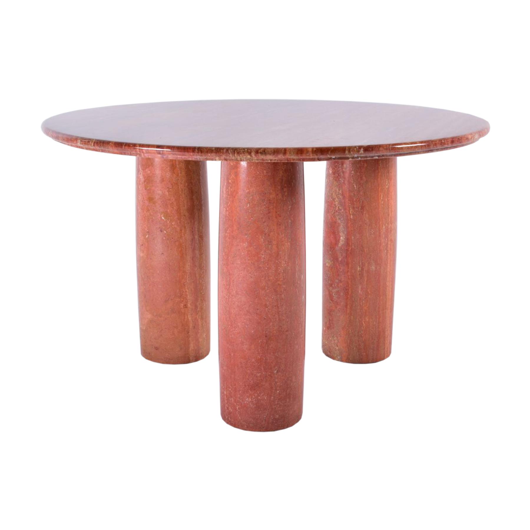 vintage design bellini marble table collonato