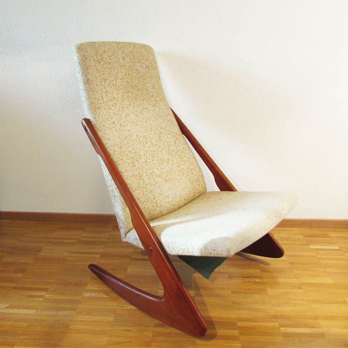 Rocking Chair Mogens Kold Artichoke Vintage Furniture