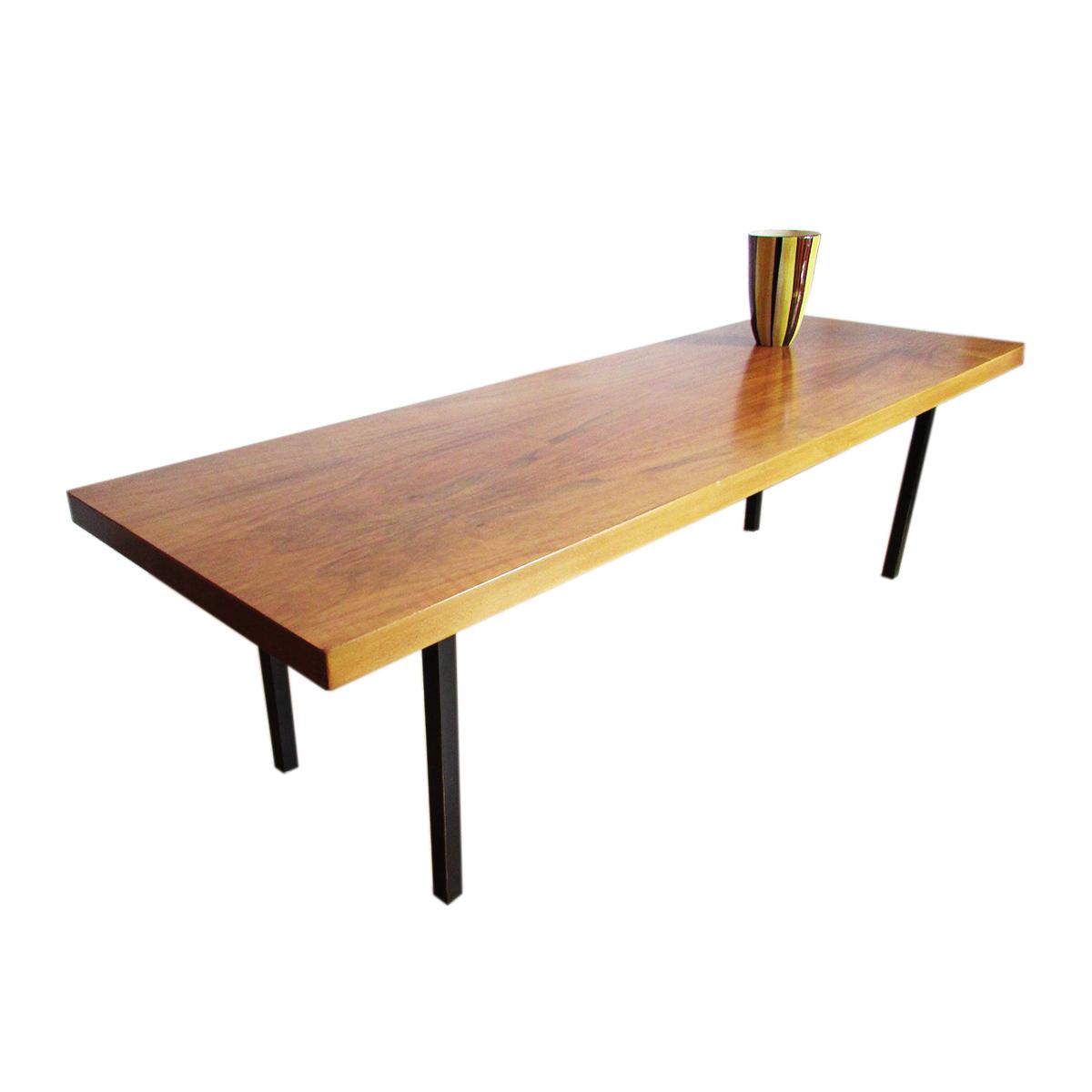 American walnut coffee table artichoke vintage furniture american walnut coffee table geotapseo Gallery