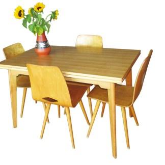 swiss vintage table