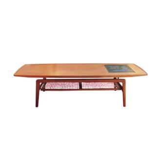 mogens kold teak vintage coffee table olsen