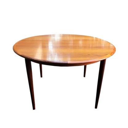 vintage dining table teak danish