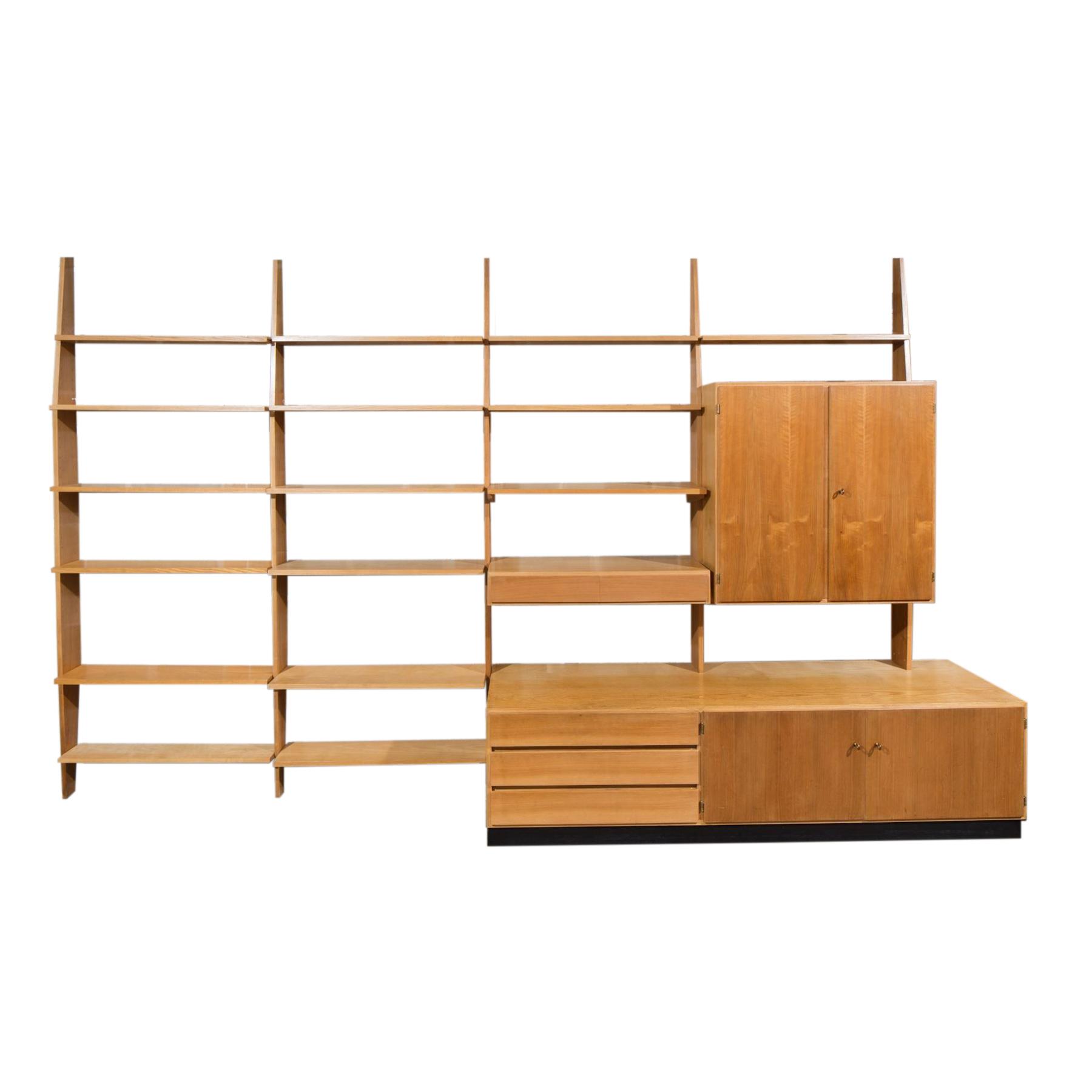 waeckerlin sideboard wall unit vintage idealheim