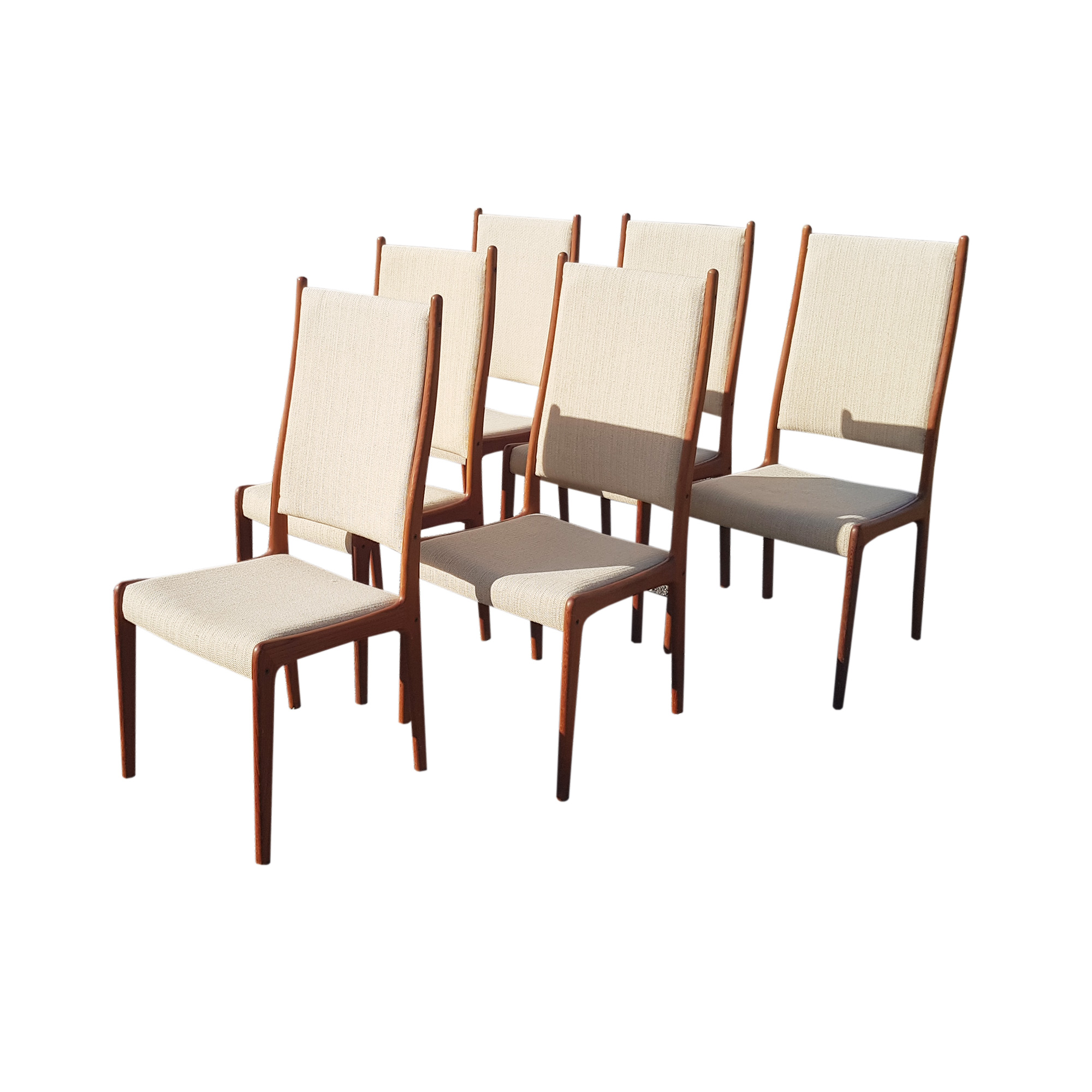 teak chairs andersen high back