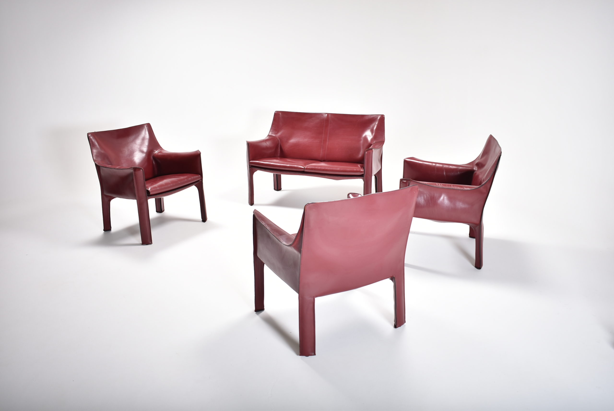set of cab 414 chairs