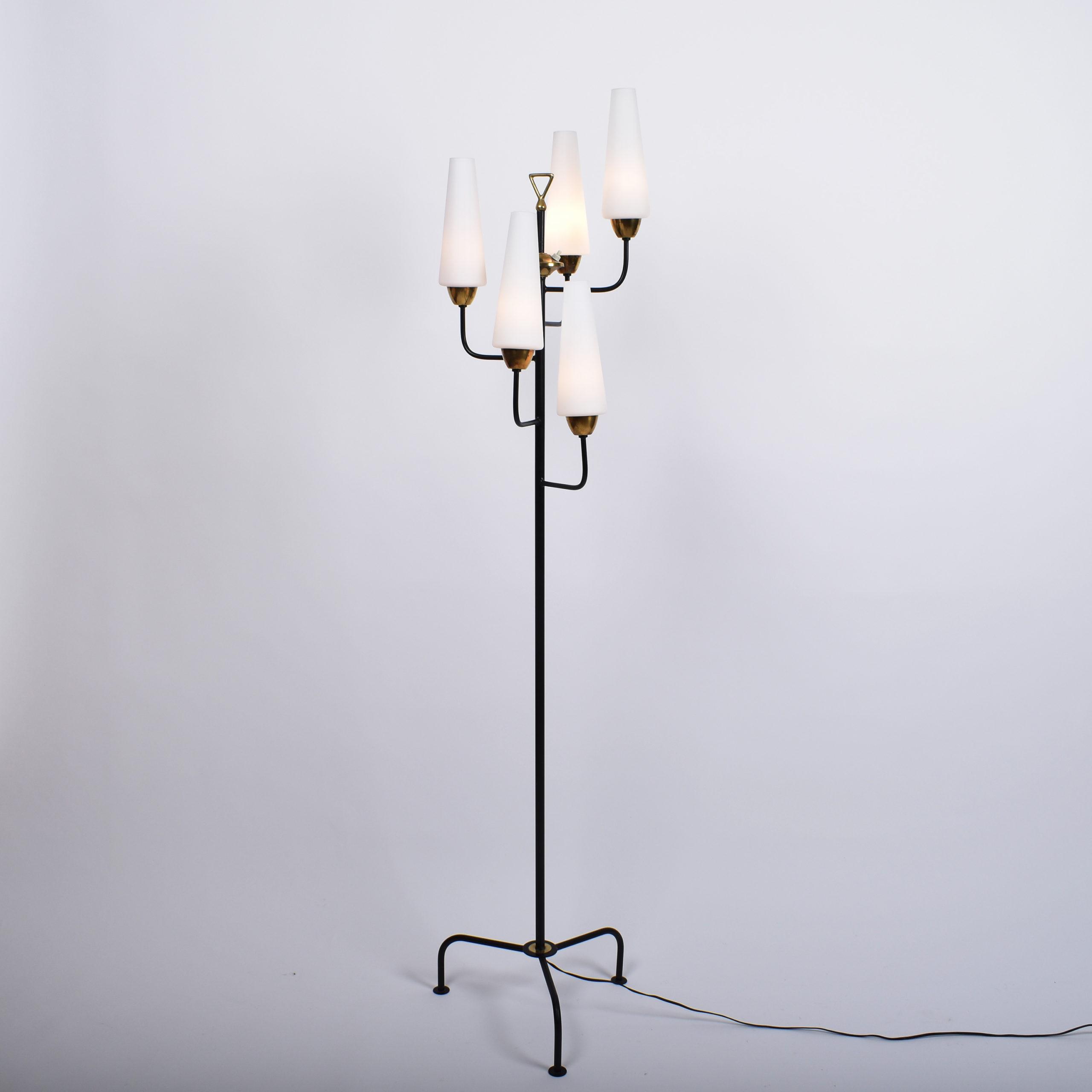 french mid century floor lamp
