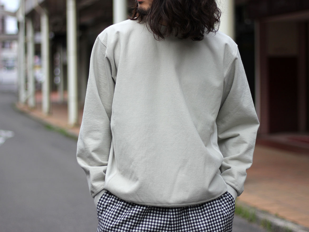 【AURALEE】SUPER MILLED SWEAT P/O