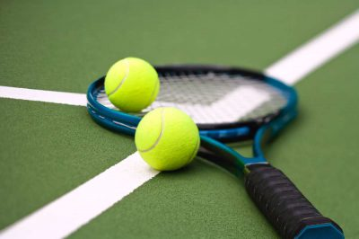 What is a tennis ball hopper?