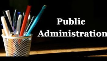 what is the scope of public administration
