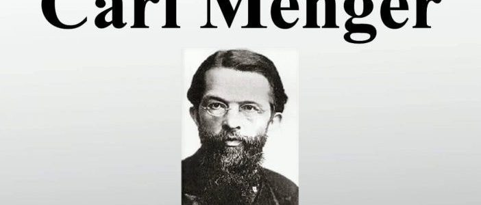 Theories of Carl Menger