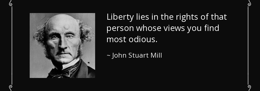john stuart mills viewpoint on interrogation Js mill and his wife harriet  the passions of john stuart mill  conservative of  the previous generation, is a model appreciation of a writer whose views are all   either it is right that we should kill because nature kills torture because nature .