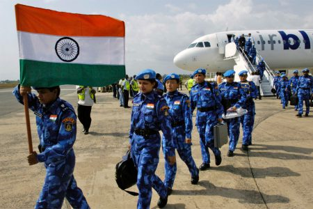 India's contribution to UN peacekeeping operations