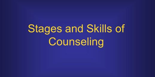 Evaluation and termination stage in Counseling