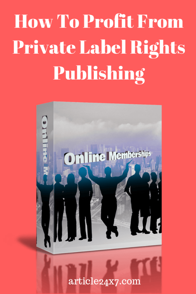 PLR Publishing