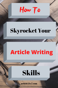 Article Writing Skills
