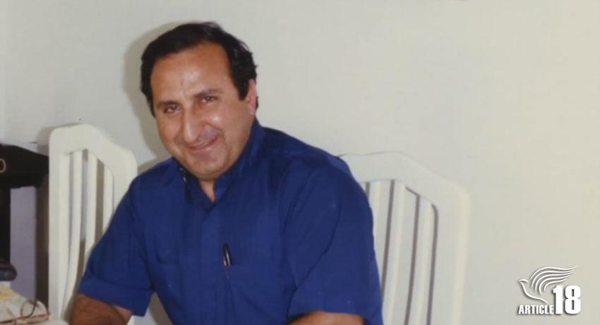 هایک هوسپیان، رهبر مسیحی و فعال حقوق بشری که مقابل حکومت زانو نزد