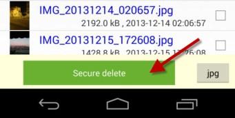 برنامج حذف الملفات