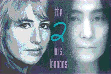 The Two Mrs. Lennons: Cynthia Lennon was John's first wife; Yoko Ono was his second wife, who he married on March 20, 1969.