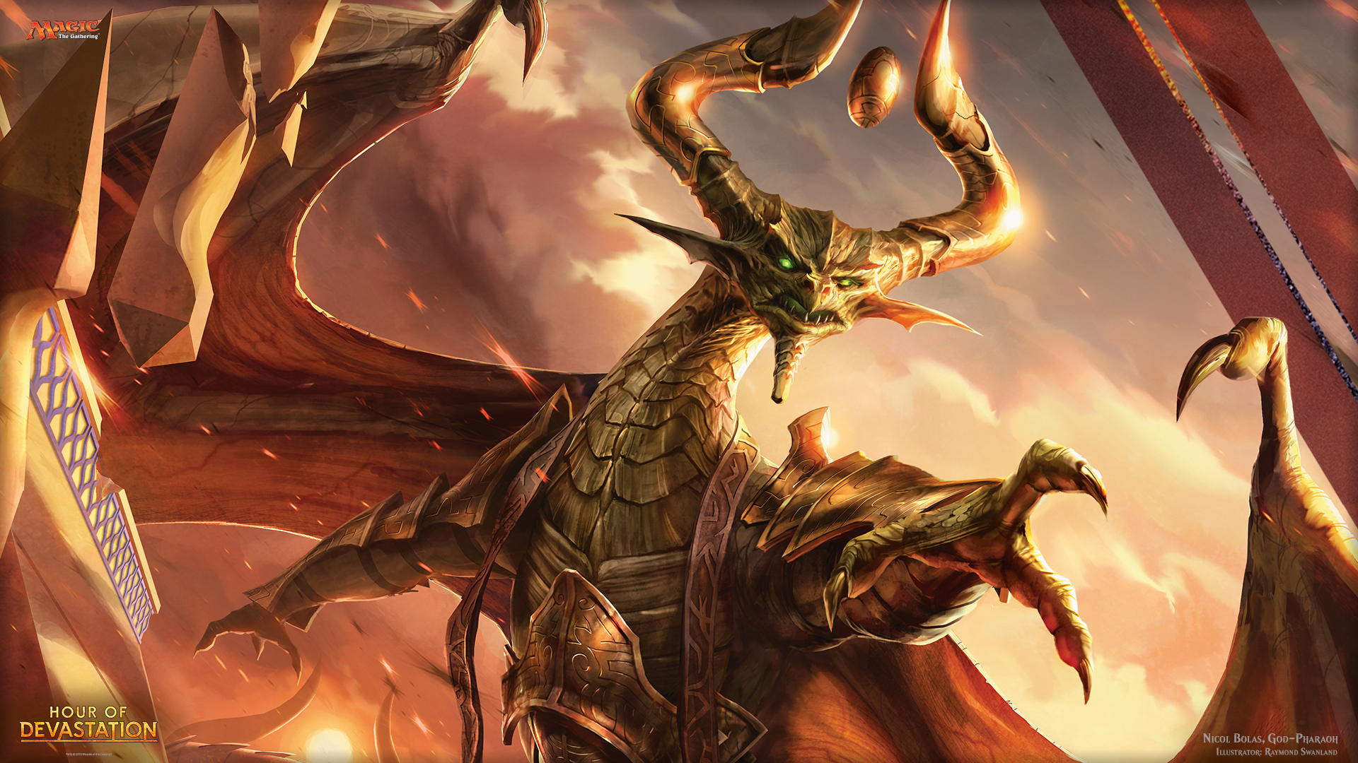 Image result for nicol bolas god-pharaoh