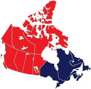 L'Ouest et l'Est canadiens en tant que deux États-Nations