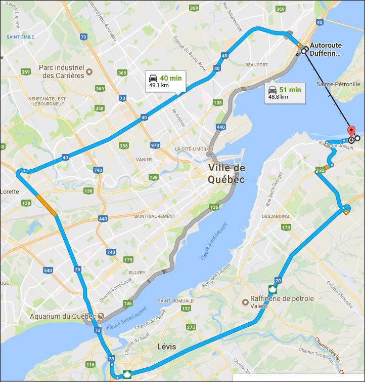 Québec et Lévis