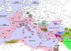 Empire romain vers l'an 1 de notre ère