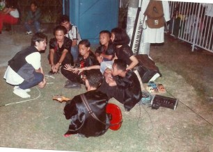 Mam Ching with band members