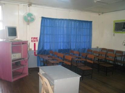 Annex 2nd floor classroom