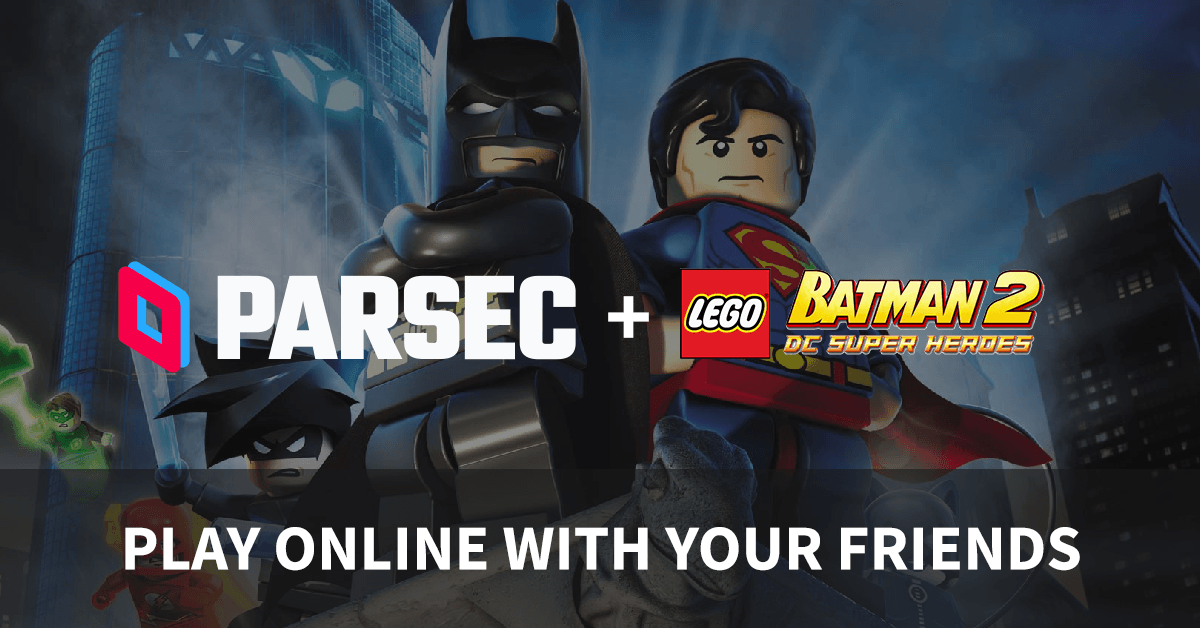Play Lego Games Online With Parsec