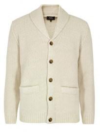 Apc Chale A Cotes Blanc Casse Cardigan