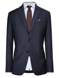 He By Mango Classic-fit Suit Blazer