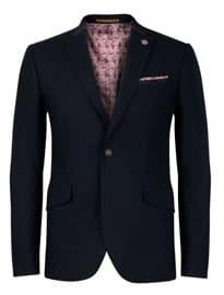 Ted Baker Tantkop Wool Grosgrain Suit Blazer