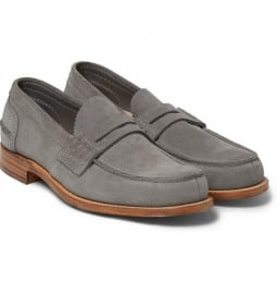Churchs Suede Penny Loafers