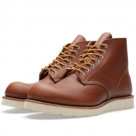 Red Wing 9107 Heritage Work 6 Botte à Bout Rond Oro-iginal